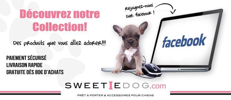 http://www.sweetiedog.com/boutique/ la boutique chic et fun pour votre chien ! vêtements, jouets,colliers, harnais,shampoings,biscuits... tout pour faire plaisir a votre chien :)