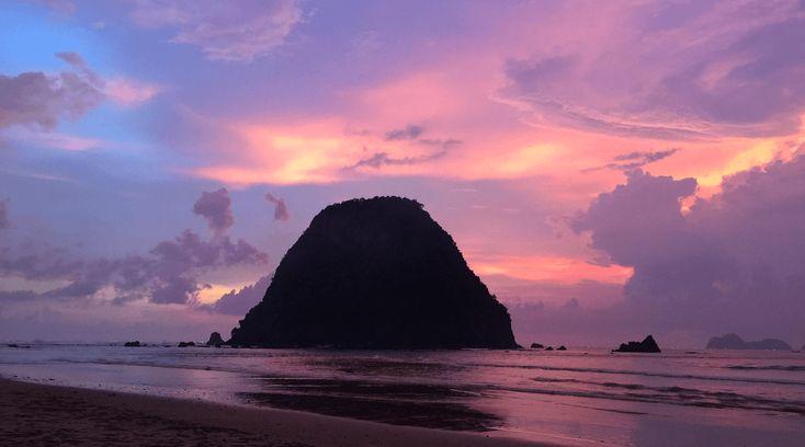 Dieser Moment, wenn der Abendhimmel solche Farben annimmt... #nofilter