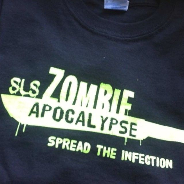 May 31st the #SLSzombieApocalypse  official game starts at 8pm come and see the one only @Darrin Lavallee​ play live later in the night. Come and get your #SPFX #zombiemake up done by @Winnipeg Body Painting SamanthaWpg.Com out guest sponsors are @zombieammo ​@European Body Art #blumen