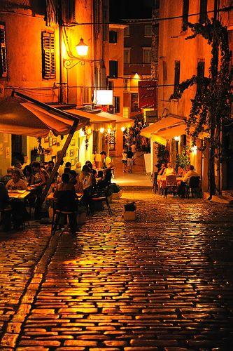 Rovinj , Croatia ~ So beautiful in the evening