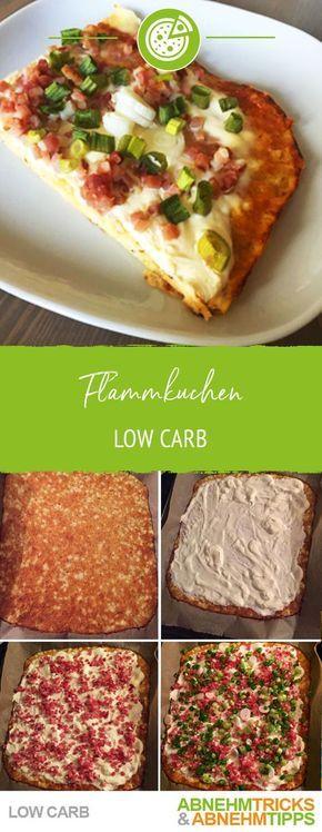 Flammkuchen Rezept – Wie das Orginal, aber Low Carb