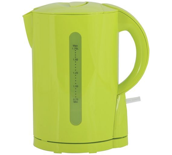 Buy Colourmatch Plastic Apple Green Jug Kettle at Argos.co.uk - Your Online Shop for Kettles, Kitchen electricals, Home and garden.