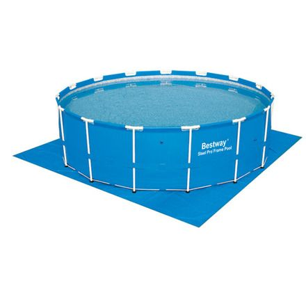 Tapiz de suelo para piscinas hasta 457 cm Bestway