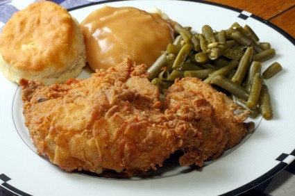Kentucky style fried chicken recipe. Tastes like the real thing!