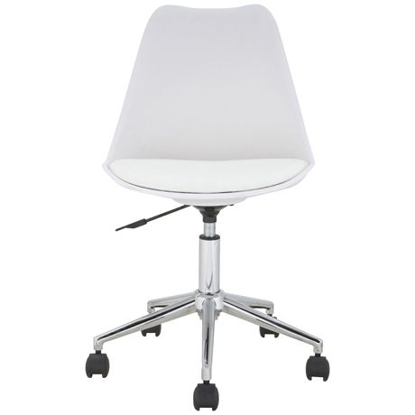 Freedom Furniture -  Brandon Office Chair in White  $139