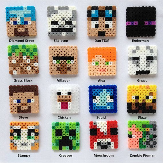 Minecraft Inspired Awesome Block Set – pixel art
