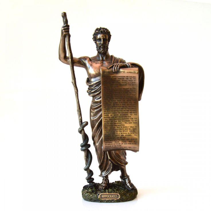 Statueta bronz Hipocrat