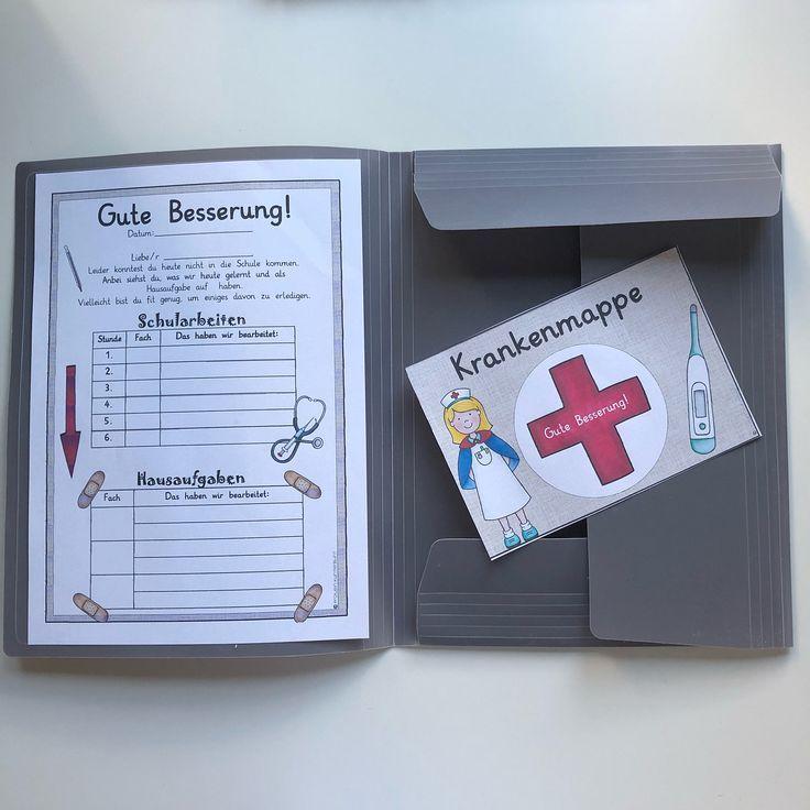 Ich habe das Layout meines Erholungsbuchs überarbeitet: Es sammelt alle ABs und Materialien, die ein krankes Kind benötigt, um Schulmaterial und Haushaltsvorräte zu erhalten, auch während der Krankheit! Oft kommen die Eltern zur Schule und holen sie ab, aber die Mitschüler nehmen auch die Mappe für kranke Kinder mit und bringen sie am nächsten Tag wieder in die Schule! In der Liste können Sie das Schulmaterial des Tages sowie die Hausaufgaben aufschreiben – Jessica Lintner