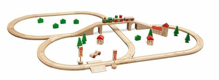 OSTERN --------------------  Eichhorn 100001204 - Bahn, Bahnset mit Brücke: Amazon.de: Spielzeug