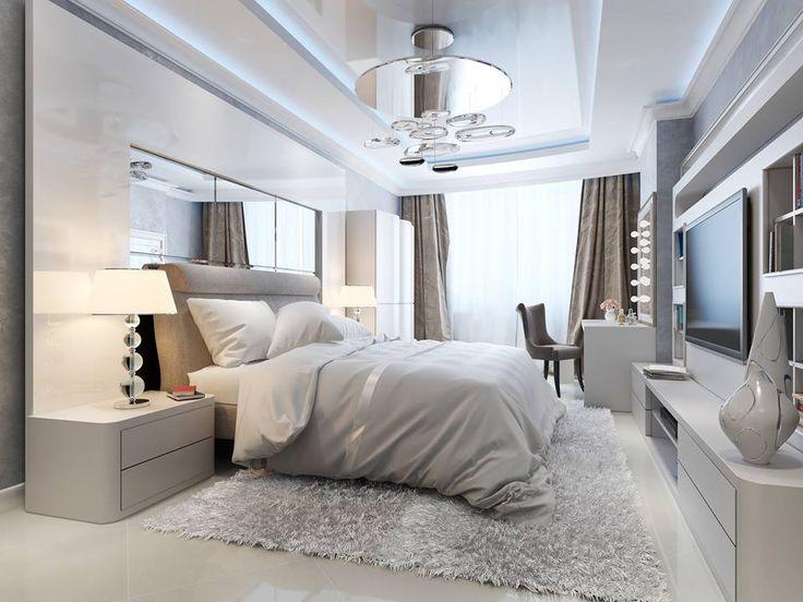 Makuuhuoneen Ninapinta kiiltävä sisäkatto