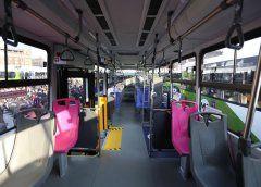 Estrenan 74 autobuses de transporte público en la CDMX