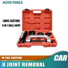 HQ 10pc Ball Joint Press Service Kit Remover Separator Adaptor 4in1 Tool Set A2