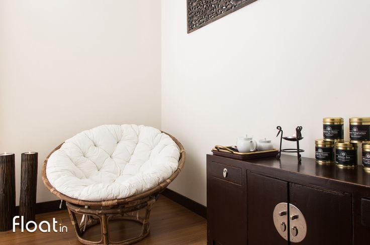 Continue a relaxar após receber a sua massagem nas nossas salas de relaxamento.