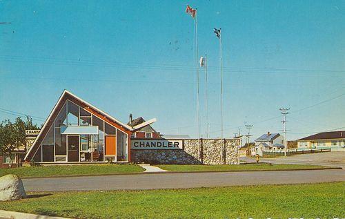 Tourist Information Centre - Chandler, Quebec