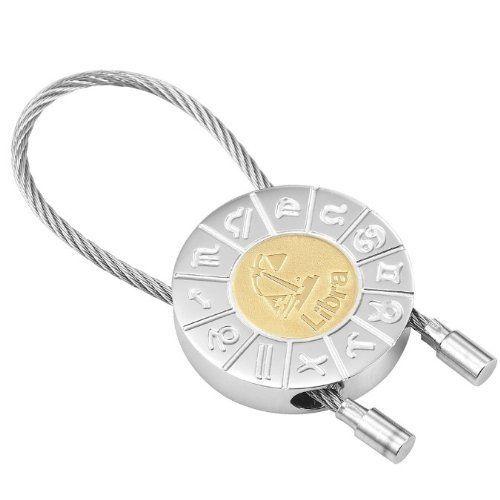 R&B Schmuck Unisex Schlüsselanhänger - Waage Sternzeichen (Silber, Gold): 12,90€