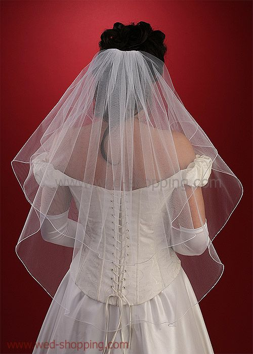 Swarovski Rhinestones 2T wedding veil