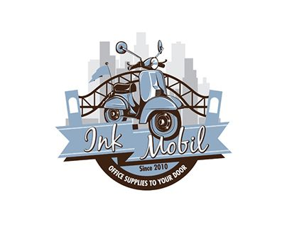 """Check out new work on my @Behance portfolio: """"Ink Mobil Logo Design"""" http://be.net/gallery/53826031/Ink-Mobil-Logo-Design"""