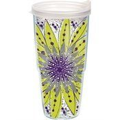 Tervis Tumbler Molly Z Green with Purple Flower Burst Wrap 24oz. Have this one!
