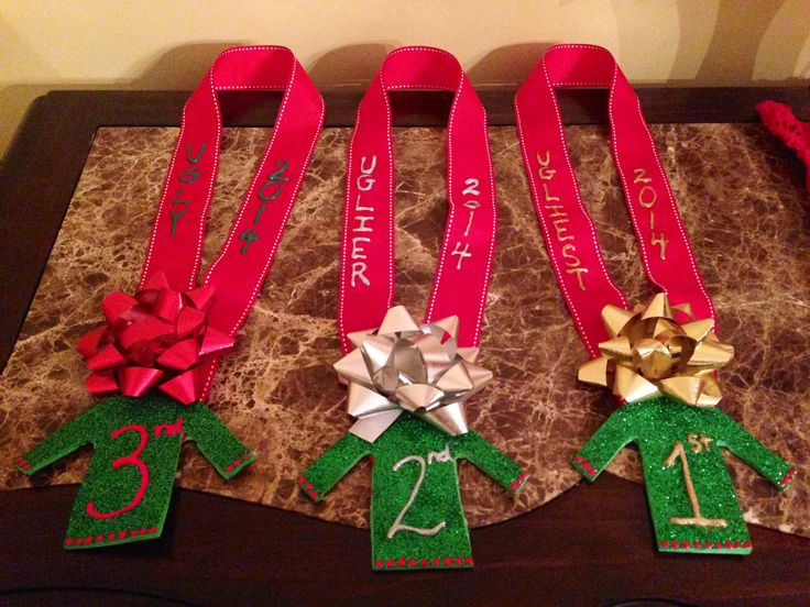 DIY Ugly Sweater Awards