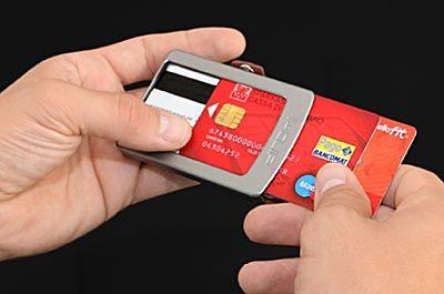 I-CLIP portafoglio banda protetta