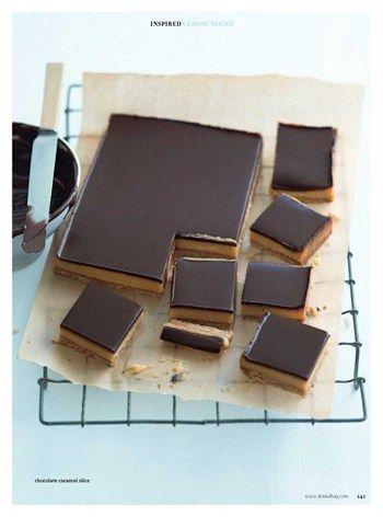 Chocolate caramel slice Donna Hay Magazine : Issue 51 - demo, Page 162