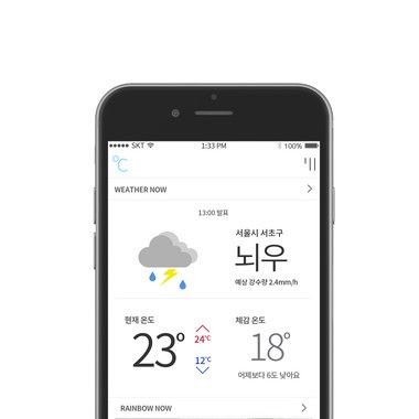 Weather + Life SNS Application : Cloud℃