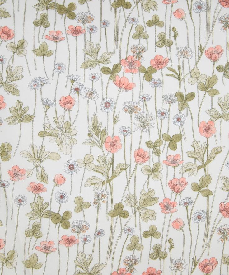Josephine's Garden, C Belgravia Satin, Liberty Art Fabrics