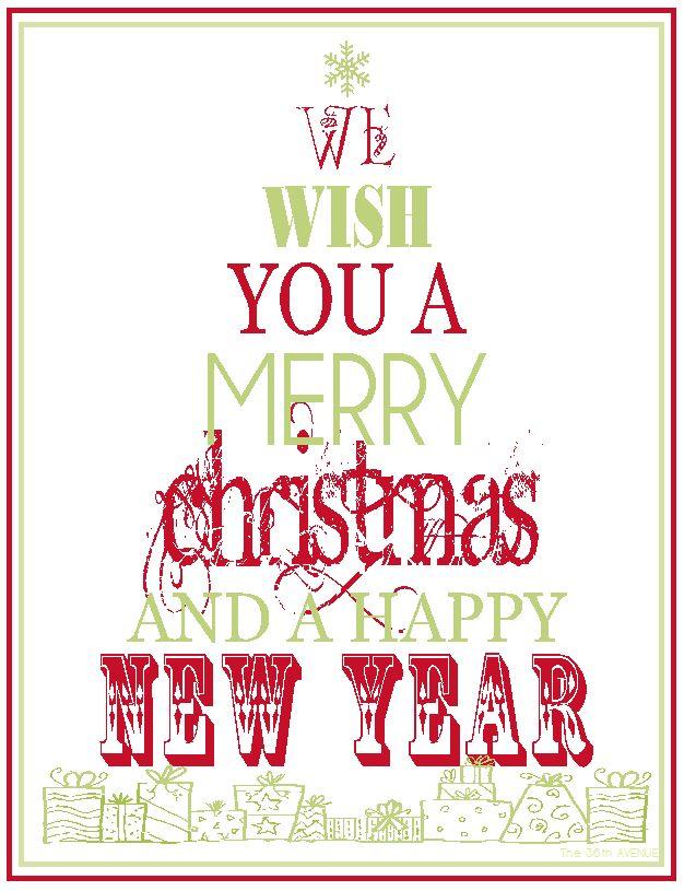 Free #Christmas #Printable… more colors!