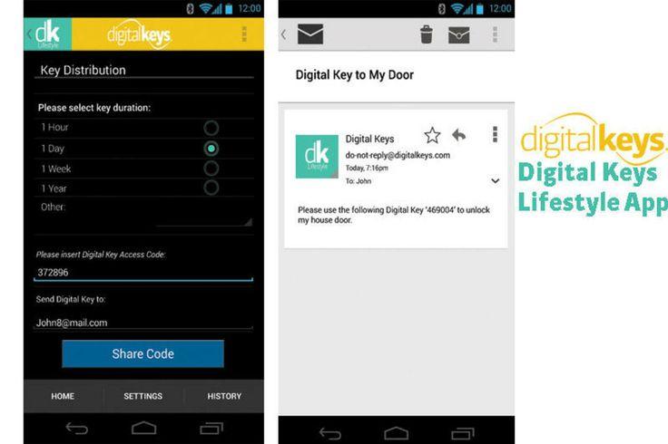 The Digital Keys Lifestyle app