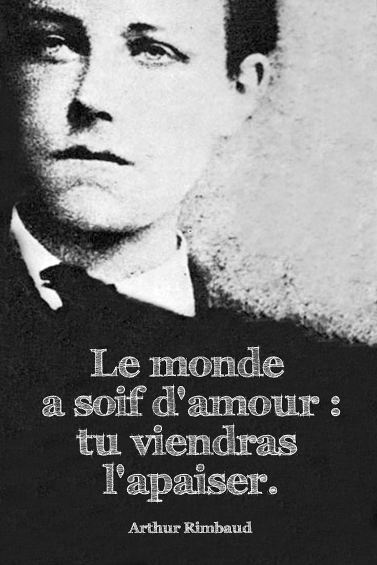 Arthur Rimbaud. The wild, restless spirit of Rimbaud has been hymned by many 20th-century artists, including Dylan Thomas, Bob Dylan, Allen Ginsberg and Jim Morrison.