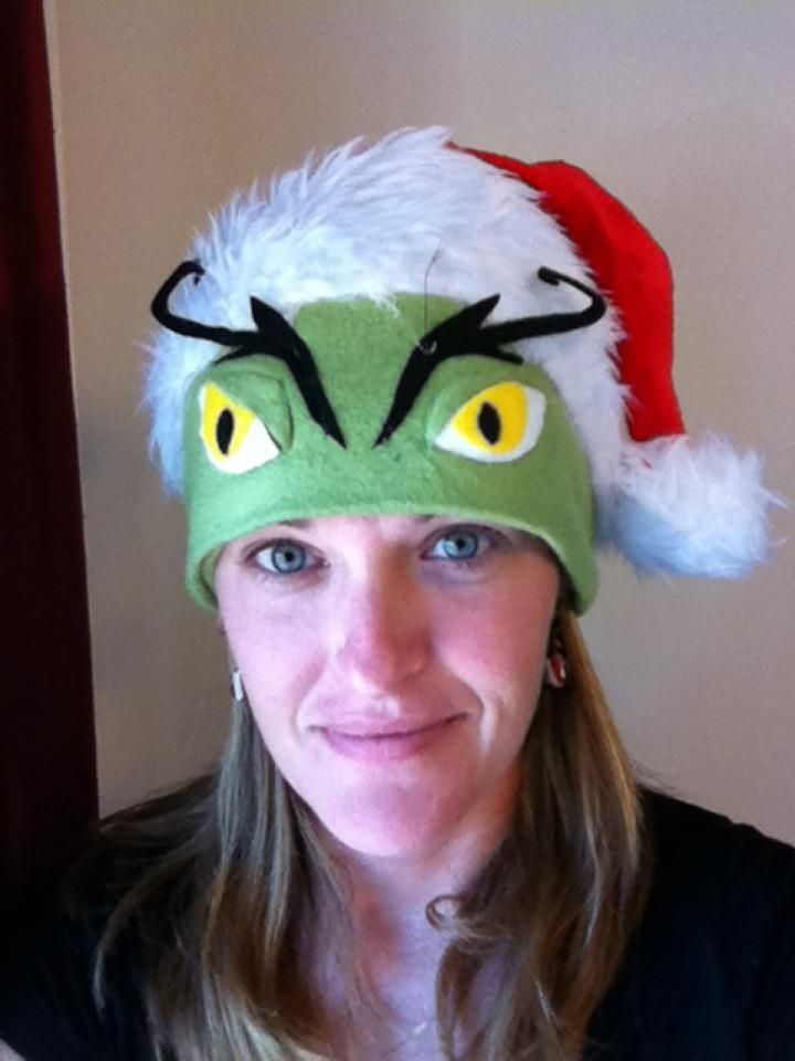 Is this the coolest Grinch hat, or what?
