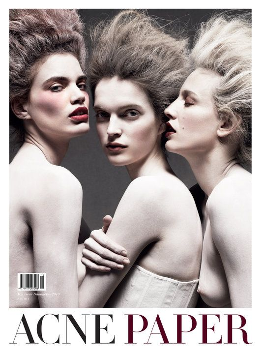 Acne Paper 10th Issue, Summer 2010, Legendary Partis, Cover by Daniel Jackson.