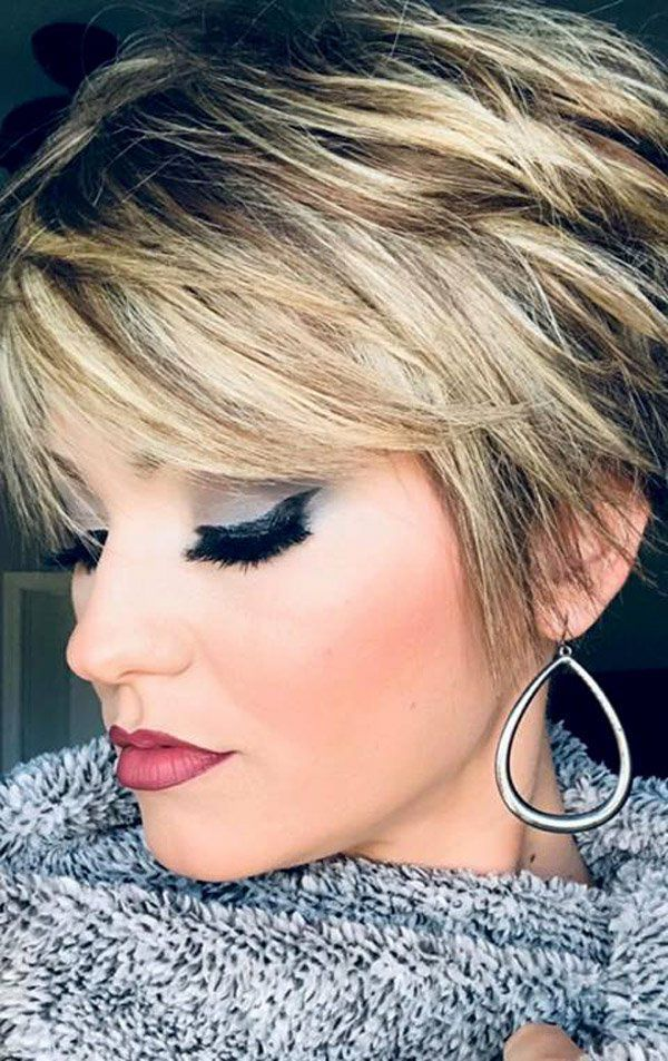 Trending Hairstyles 2019 – Short Layered Hairstyles – EveSteps