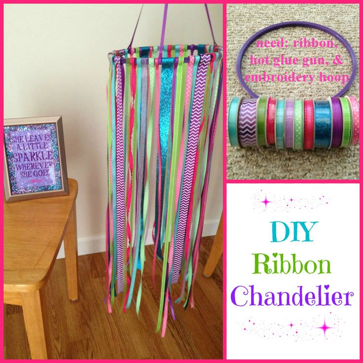 Ribbon Chandelier Diy: 17 Best Images About Things I've Made/Done {many Are
