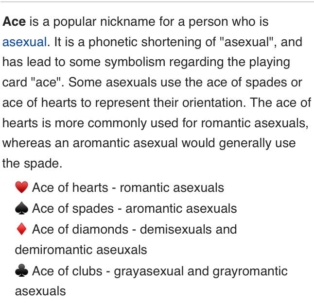 Is that really a thing? Because that would be so cool<< you can call me an Ace of hearts if you so wish
