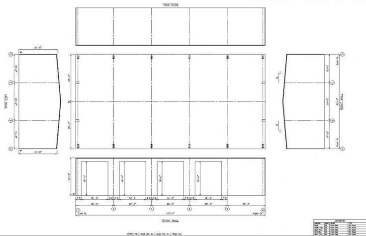 50' x 100' x 20' Steel Building for Sale - Kimberling City, MO 65686   LTH Steel Structures