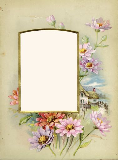 Vintage Album Frame   stichers   Pinterest   Album, Frame and Vintage photo album