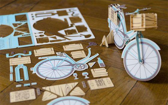 A puzzle wedding invitation!