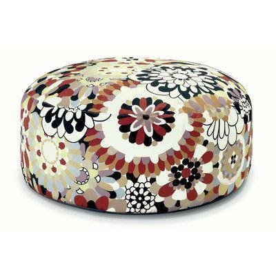 Missoni Home Vevey Pouf Bean Bag Chair - http://delanico.com/bean-bag-chairs/missoni-home-vevey-pouf-bean-bag-chair-519891925/