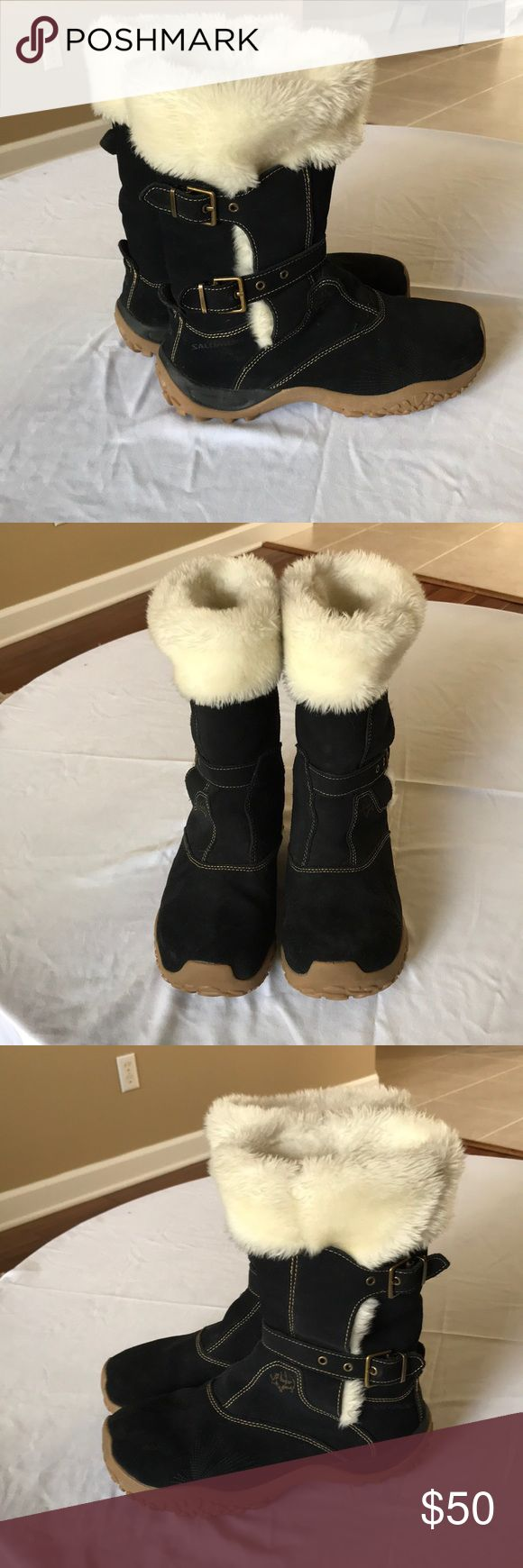Women's Salomon Boots size 8 Women's Salomon Ski Boots with small signs of wear Salomon Shoes Winter & Rain Boots