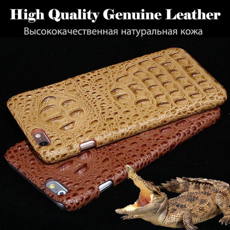 Nueva Marca Para Xiaomi Redmi Nota 4X Caja Del Teléfono de Lujo 3D Crocodile Líneas de Fondo de Cuero Genuino Cubierta Del Teléfono  Free regalo | 32814965849_pt