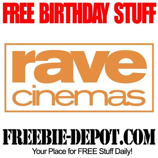 FREE BIRTHDAY STUFF – Rave Cinemas - FREE BDay Popcorn