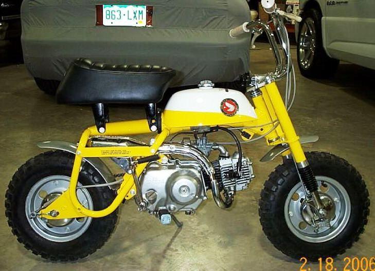 1968 Honda Z50a