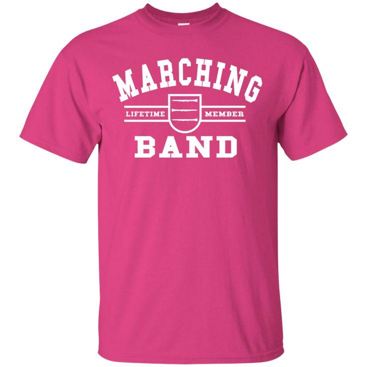 Marching Band Clarinet T-Shirt