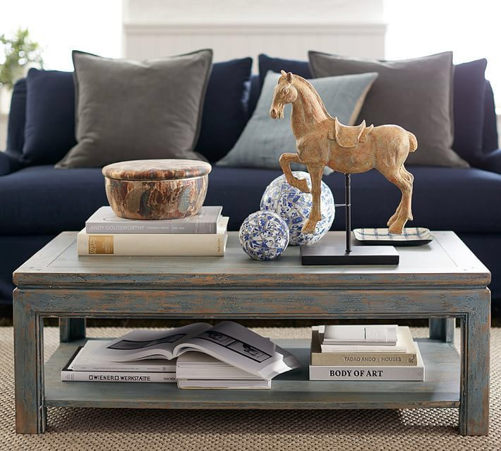 Molucca Coffee Table Coffee Table Pottery Barn Home