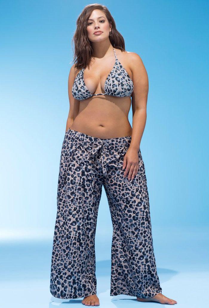 Ashley Graham x swimsuitsforall Reina Beach Pant