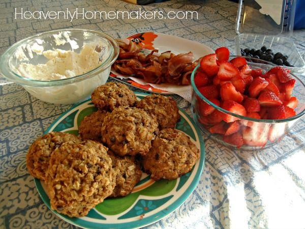Gefrierschrank Frühstück Cookies5