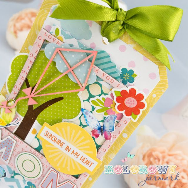 Scrapbooking #multilayered tag . #scrapberry's #cardmaking #tag #scrapbooking #handmadecards #papercraft