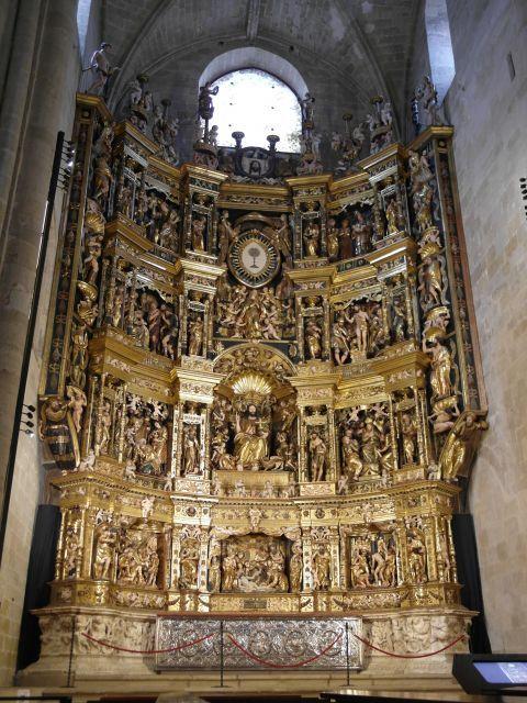 Damian Forment Retablo De Santo Domingo De La Calzada Santo Domingo Fotos Calzada