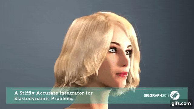スタンフォード大学の研究者ら、人間の髪のような変形可能な複雑な物体を今までより現実的にシミュレートする提案を論文にて公開